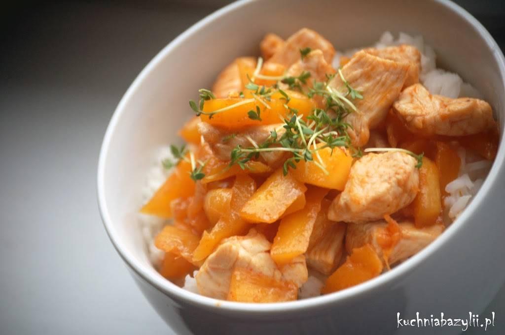 Kurczak Z Mango Na Ostro Kuchniabazylii Pl Blog Kulinarny