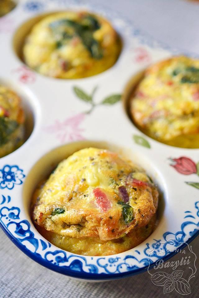 śniadaniowe muffinki jajeczne