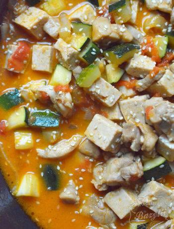 Kurczak z tofu