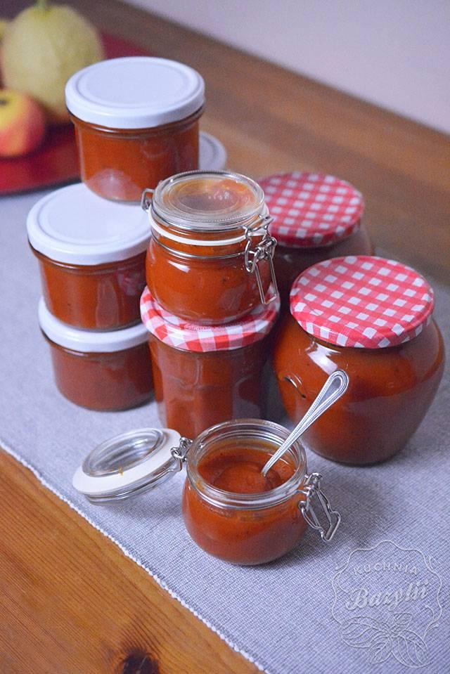Ketchup z dyni i papryki