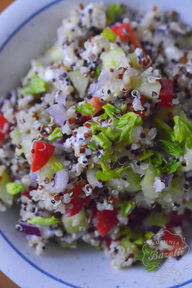 sałatka z quinoa