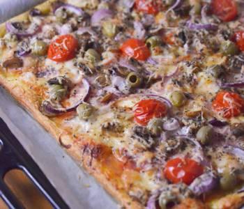 Pizza na ciescie francuskim